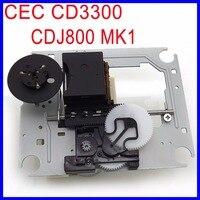 Original CEC CD3300 Optical Pick up Mechanism Replacement CDJ 800 MK1 Laser Lens Lasereinheit For Pioneer CDJ 800 CD player