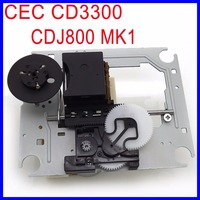 Original CEC CD3300 Optical Pick up Mechanism Replacement CDJ 800 MK1 Laser Lens Lasereinheit For Pioneer CDJ 800 CD player