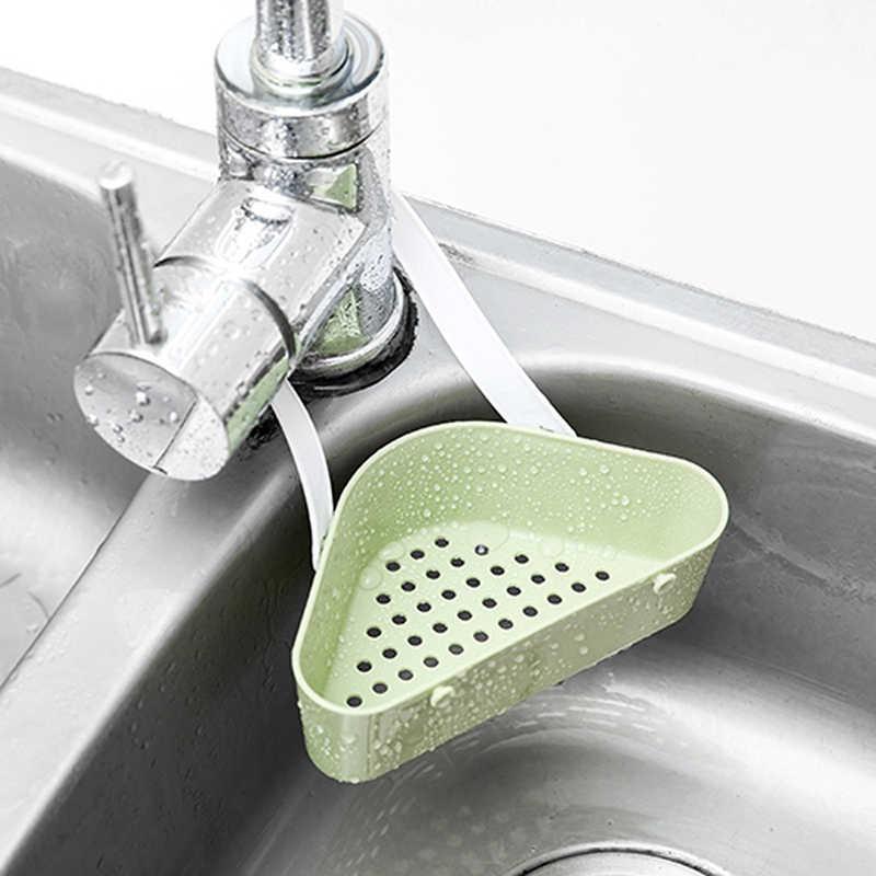 3 cor Sink Esponja Ferramentas Titular Cozinha Rack de Drenagem Pia Da Cozinha Pendurado De Armazenamento De Drenagem De Armazenamento Prateleira Titular Pia Cesta de Drenagem