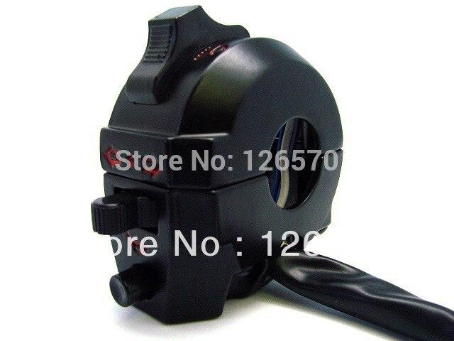 7/8 Handlebar Motorcycle Switch Dual Sport Left Switch Light Horn for Honda XL XR 250 400 650 XR600 Yamaha XT WR WRF 450 250 7 8 left