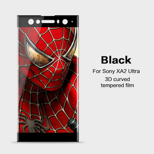 Image 5 - 3D Curved Tempered Glass For Sony Xperia XA2 Ultra Full Cover 9H film Explosion proof Screen Protector For Sony XA2 Ultra