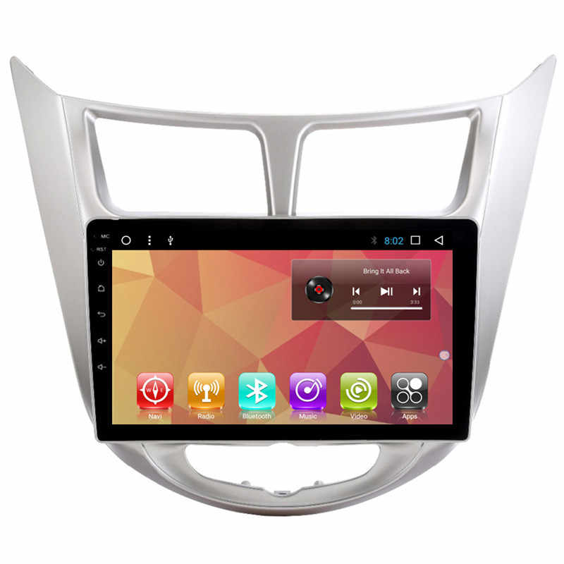 9 &quotAndroid Авторадио автомобильное радио аудио Sat Nav Головное устройство для Hyundai