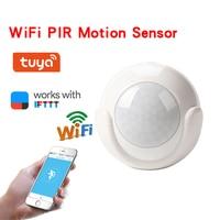 HOT WiFi PIR Motion Sensor Smart Wireless Infared 2 4GHz One key Connect  BUS66
