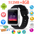 "Lemse К1 android 5.1 OS Smart Watch phone 1.54 ""дисплей 512 МБ + 8 ГБ Smartwatch поддержка WI-FI SIM bluetooth GPS для apple android"