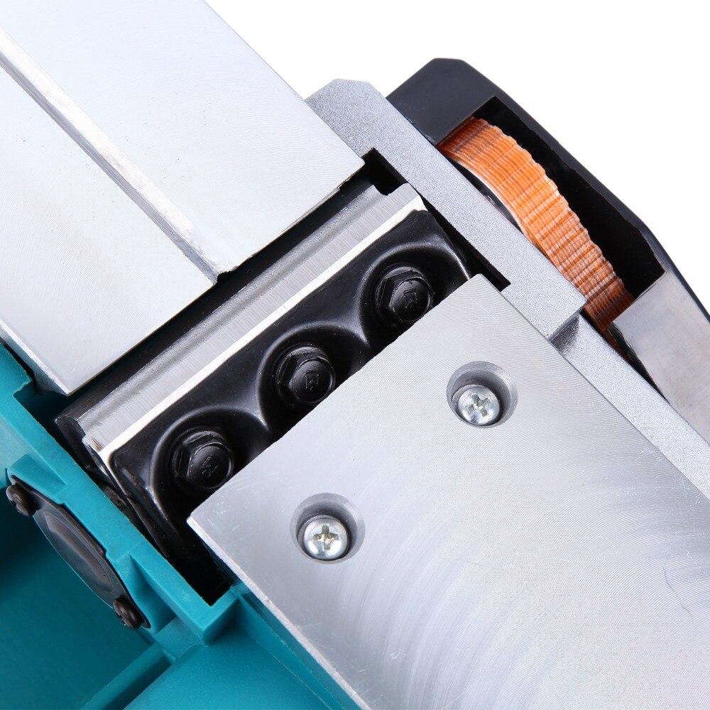 (Expédier de nous) 800 w puissant rabot à bois électrique 3-1/4 pouces Surface de travail du bois Machine à bois professionnelle - 4