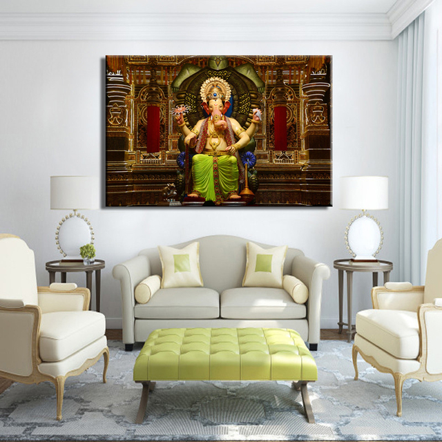 Posters and prints wall art canvas painting wall - Wall pictures for living room india ...