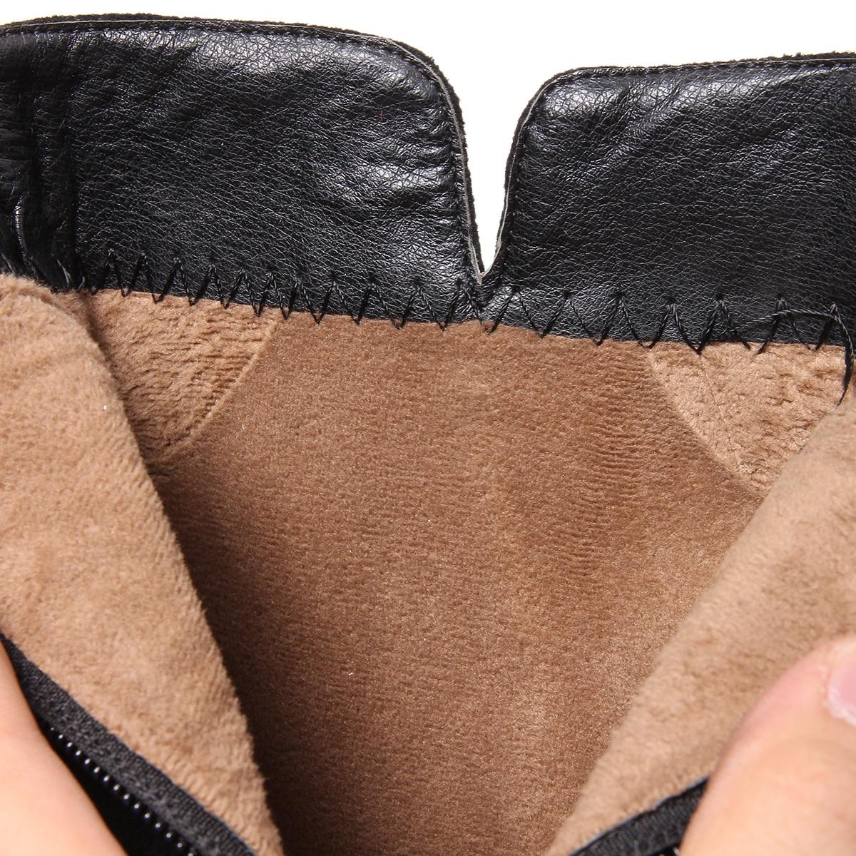 De Llegada Piel En Negro Vaca Cremallera Moda Zapatos Con Botas 34 Otoño Nueva rojo Cuero 100 Europeos Tamaño gris 43 d5x8nW8wTq
