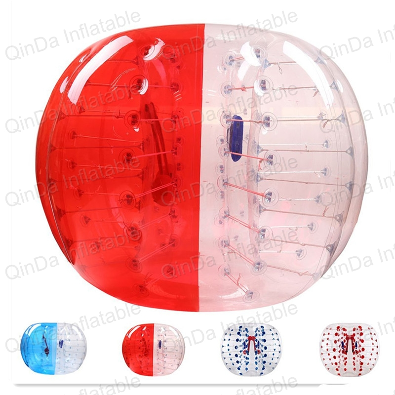 Guangzhou qinda bumper ball giant human body soccer inflatable bubble ball suit for football