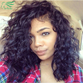 Water Wave 7A Grade Curly Wig Brazilian Human Virgin Hair Lace Front Human Hair Wigs For Black Women Wet And Wavy Full Lace Wig