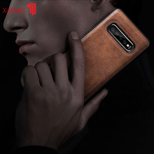 Leather Case For Samsung Galaxy S10 Plus Note10 Plus Original Soft Silicone Edge Back Phone Cover For Samsung S10 S10e S10+ Case
