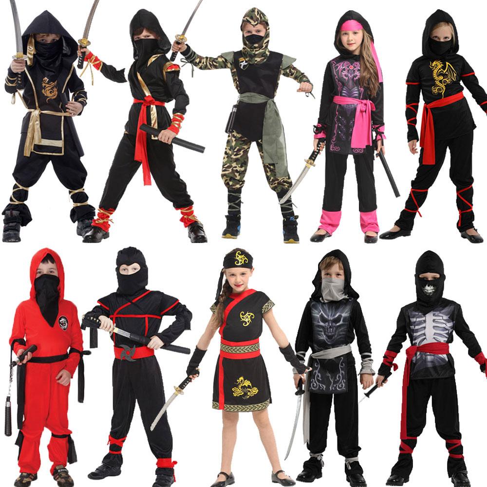 Disfraz de Guerrero Ninja para ni/ño
