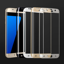 3D Full coverage protective glass on the for samsung galaxy s7 screen protector s7 edge tempered glass film