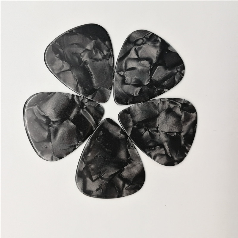 Black Pearl Celluloid Guitar Picks Without Printing At Low Price