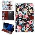 Ручка + пленка + высокое качество Мода набойки A6 смарт Tablet Чехол Для Samsung Galaxy Tab 10.1 2016 T585 T580/N Роскошный чехол