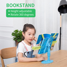 Height Adjustable Book Stand Desktop Holder Multi-function Reading Bookshelf Lazy Bracket For Adult Students