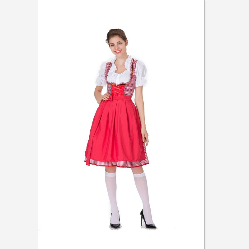 2018 New photo of the size of the Halloween beer girl dress body-shaping stage performance dress maids costumes