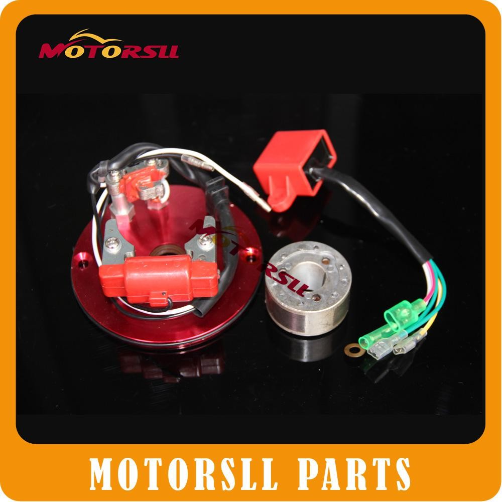 Performance Magneto Inner Rotor Kit Stator coil motor cross XR CRF50 50CC 70CC110 YX140 Pit Dirt bike ATV MENILA Thumpstar Parts