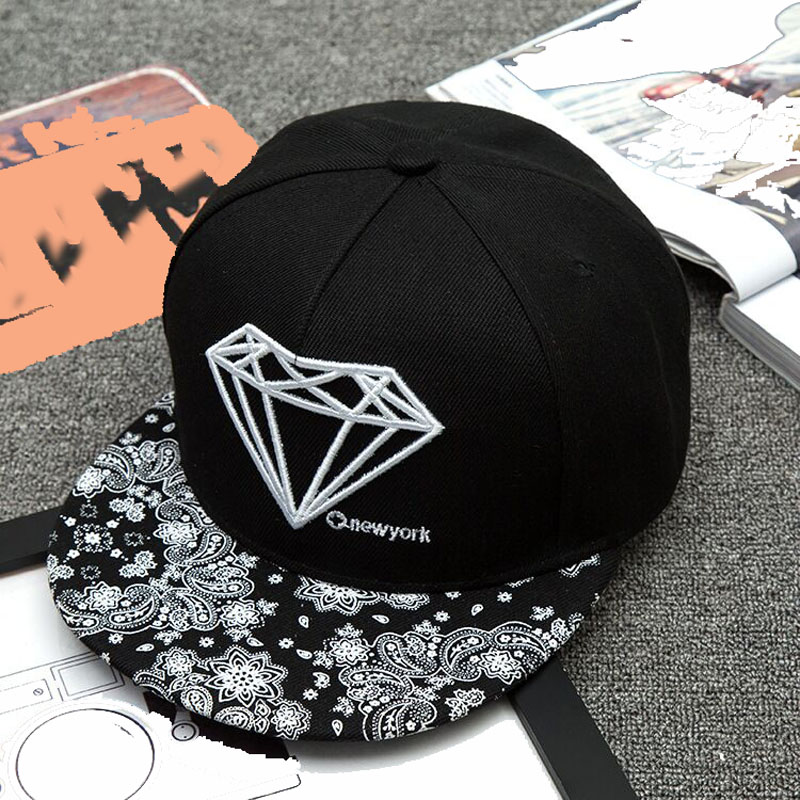 New Fashion Embroidery Diamond Painting Snapback Cap For Men Women Hip-hop Hats Fashion Baseball Caps Gorras Brand Hat hot 2017 ny hats new fashion unisex new york baseball cap gorras sports outdoor brand ny snapback hat hip hop caps for men women