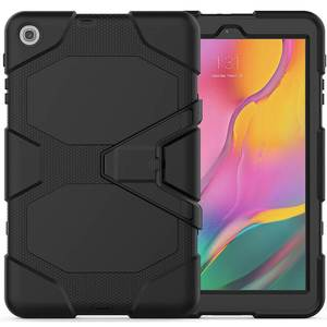 Image 4 - Case Voor Samsung Tab EEN 10.1 2019 T510 T515 Waterdicht Shock Vuil Sneeuw Zand Proof Extreme Leger Militaire Zware kickstand Case