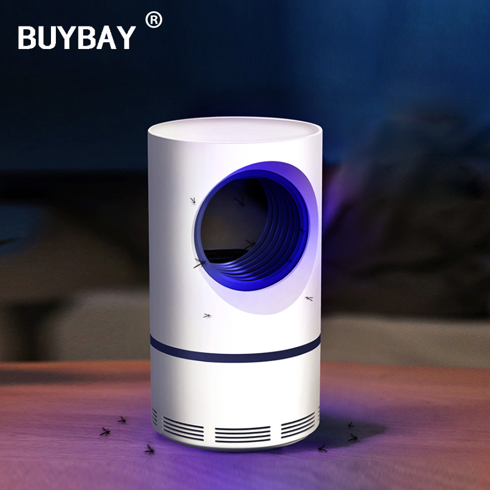 USB Mosquito Killer Lamp Ultraviolet Light Electric Mosquito Trap Safe Photocatalytic Light Fly Muggen Killer Electric