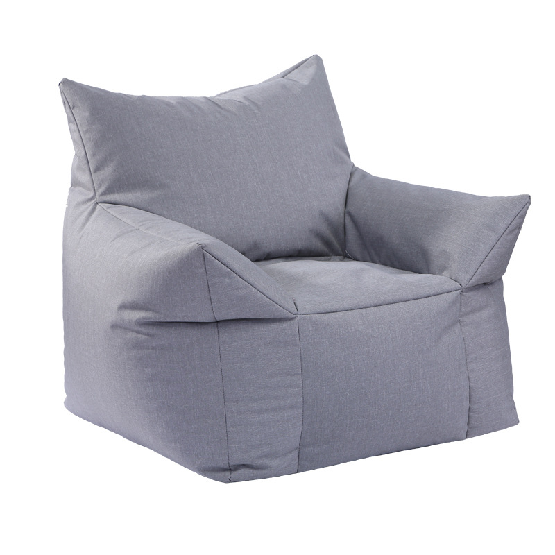 все цены на Bean Bag Lounger Sofa Cover Chairs Seat Living Room Furniture Without Filling Lazy Seat Beanbags Bed Beanbag Chair Shell онлайн