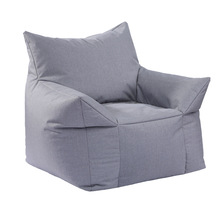Bean Bag Lounger Sofa Cover Chairs Seat Living Room Furniture Without Filling Lazy Seat Beanbags Bed Beanbag Chair Shell