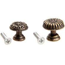 1Pc Antique Bronze Furniture Cabinet Knobs and Handles Kitchen Drawer Cupboard Door Pull Handle Jewelry Wood Box Wooden Handles цена
