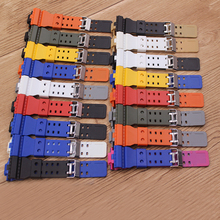 Watch Accessories Silicone  Strap Fits Casio G-SHOCK GD-100GD-110 GA-100 GA-120 Two Color Strap Men's and Women's Watch Bands стоимость