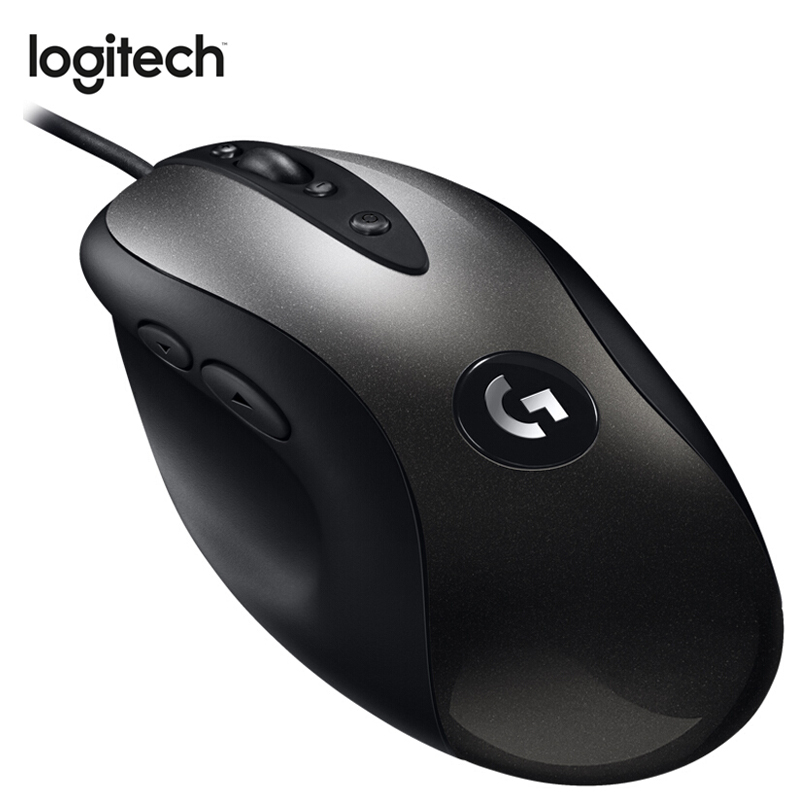 Logitech Mouse MX518 Legendary Gaming Mouse with 16K DPI HERO Engine Wired Mouse Legend Reborn for