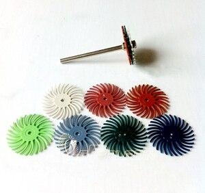 Image 2 - 8 peças abrasivo ponto slot cabeça de moagem escultura em madeira espelho polimento dremel ferramentas rotativas acessórios 1 peças 3mm mandril