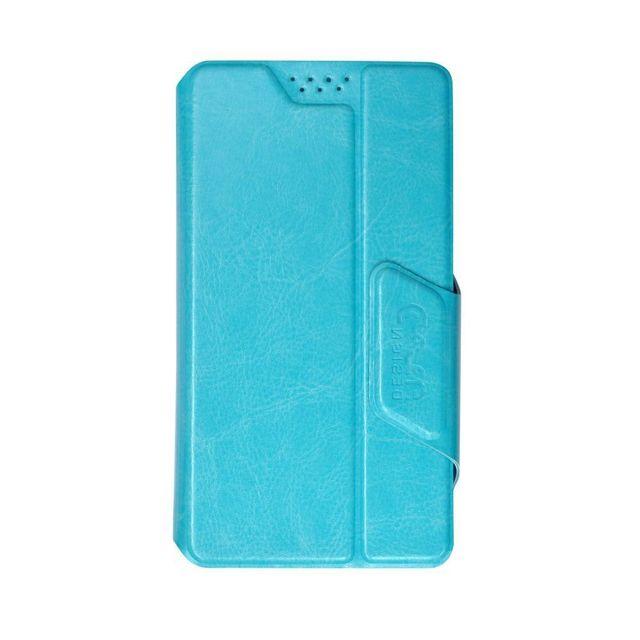 """Универсальный чехол-книжка Clever slideUP S для смартфонов  3.5""""- 4.3""""  (иск. кожа)"""