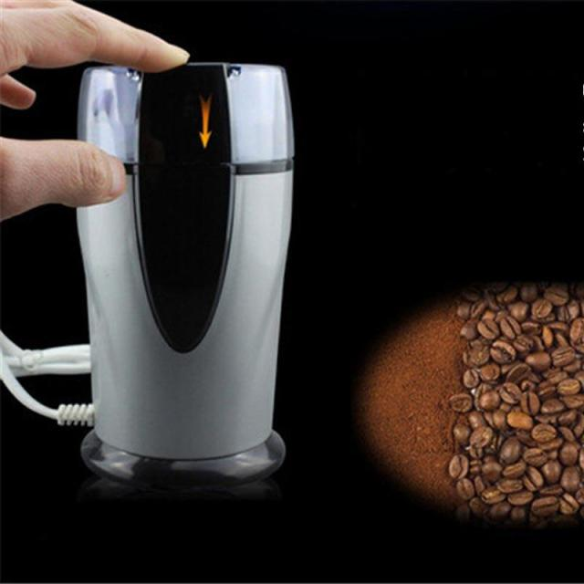 Electric coffee grinder Electrical Coffee beans bean grinder 220v COFFEE mill electric coffee maker machine High Quality