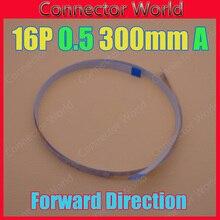 100 шт./лот FFC FPC 16pin плоский гибкий кабель 0,5 мм шаг 16 pin длина спереди 300 мм ширина 8,5 мм лента 16 p гибкий кабель
