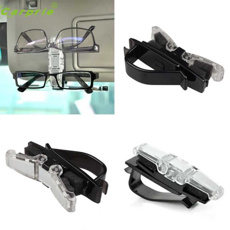 88fe83aadc5 Detail Feedback Questions about New Arrival Car Sun Visor Clip Holder For  Dual Sunglasses Eyeglass Reading Glasses Card Pen car styling car styling  on ...
