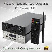 FX Audio M 200E портативный усилитель звука Bluetooth Hifi мини усилитель мощности без потерь звуковые усилители мини усилитель lificador