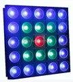 2014 новый proudct сценического освещения 25 шт. * 30 Вт RGBW 4 В 1 COB LED Матрица свет блиндер света с случае