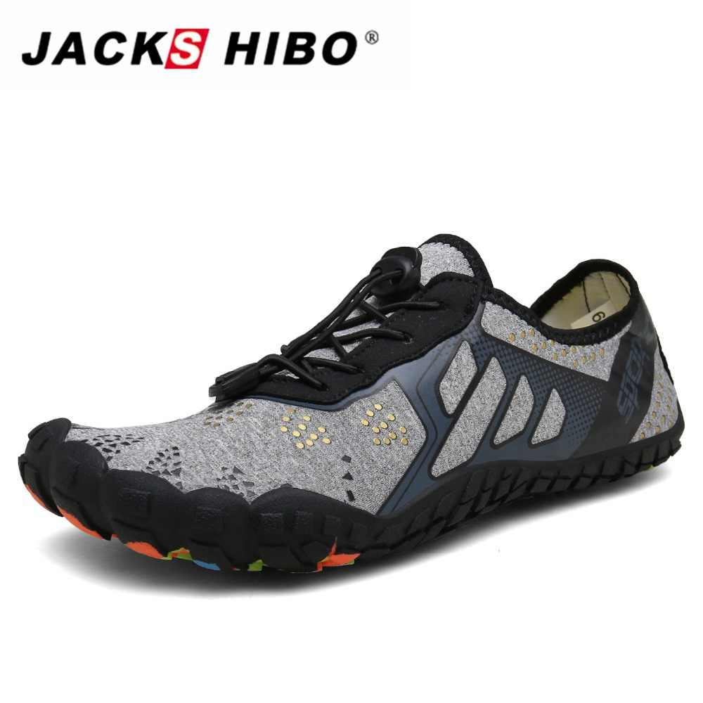 JACKSHIBO Summer Beach Shoes Swimming Sneakers Women Shoes Barefoot Breathable Sport Upstream Shoes Fishing Tenis Masculino