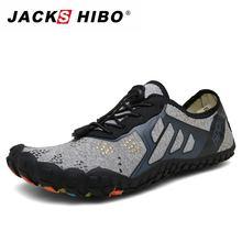 Кеды jackshibo мужские для плавания пляжные кроссовки воды дышащие