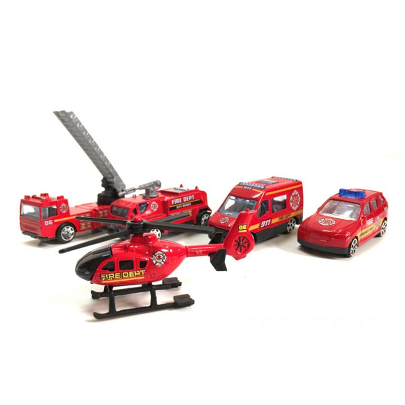 aliexpresscom buy toys car fireman red mini model metal fire fight track action set four floors kids xmas gifts hot sale from reliable car fireman