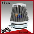 48mm sistema de filtro de aire de la motocicleta pit bike de setas de admisión de aire clearner universal para honda cb 250 cb250n cb250r cb250s cb400
