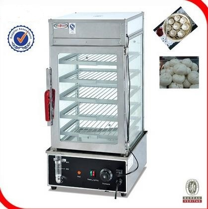 Free Shipping Commercial Electric Food Steamer Display Convenient Fast Food  Steaming Machine Steaming Cabinet Insulation Cabinet