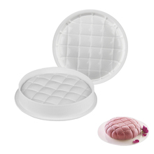1PC Round Square Pillow Gray Cake Mold For Chocolate Brownie Dessert Mousse Baking Pan Bakeware Accessories