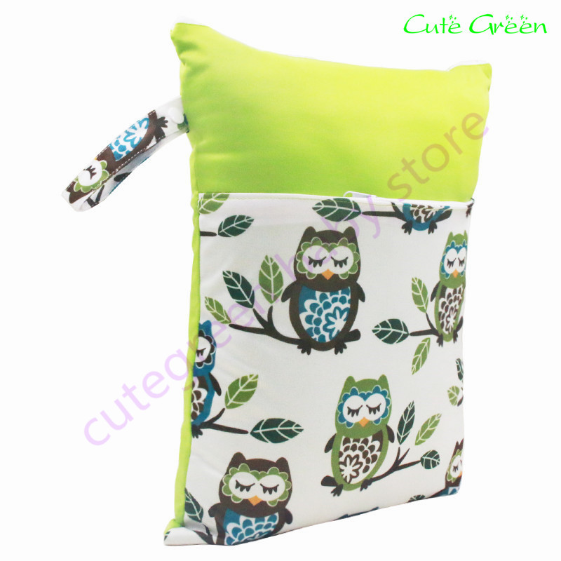 splice design double pockets washable wet bag,baby cloth diapers baby nappies reusable diaper bags,waterpoof PUL stroller bag ...
