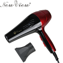 Hairdryer Househould Hair Dryer Blow Hot And Cold Wind + 1 Free Nozzles Styling Tools With EU Plug Adapter