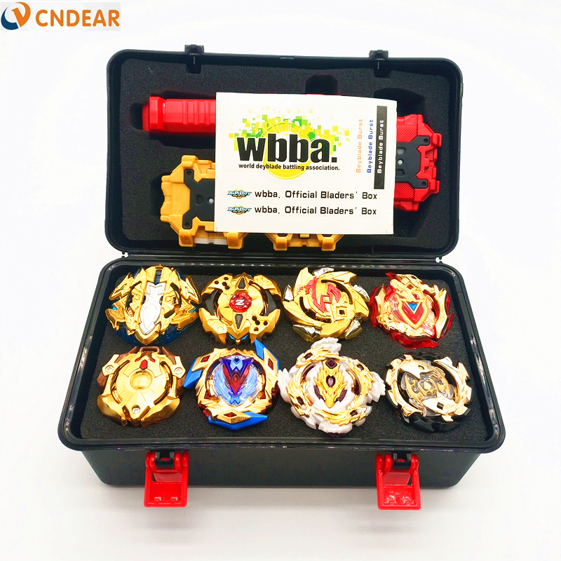 Gold style Launchers Beyblade Burst Toys With Starter and Arena Bayblade Metal fusion God Spinning Top Bey Blade Blades Toys