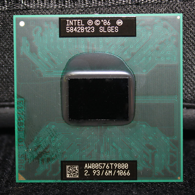 CPU Laptop Core 2 Duo T9800 CPU 6M Cache/2.93GHz/1066/Dual-Core Socket 478 PGA Laptop Processor ForGM45 PM45