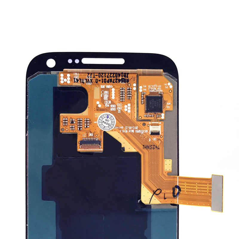 لسامسونج غالاكسي SIV S4 Mini I9190 i9192 i9195 100% سوبر AMOLED شاشة LCD تعمل باللمس قطع غيار محول رقمي مع ملصقا الزجاج
