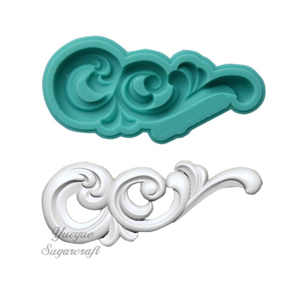 Yueyue силиконовая форма для мастики, форма для мастики, инструменты для украшения тортов