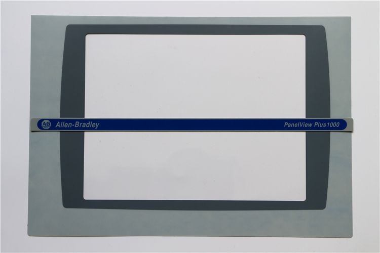 ALLEN BRADLEY 2711P-T10C PANELVIEW PLUS 1000 MEMBRANE OVERLAY 2711P-T10, HAVE IN STOCK цена