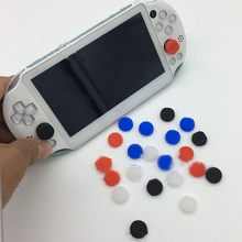 6 In 1 Silicone Thumbstick Grip Cap Joystick Analoge Beschermende Cover Case voor Sony PlayStation Psvita PS Vita PSV 1000/2000 slanke(China)